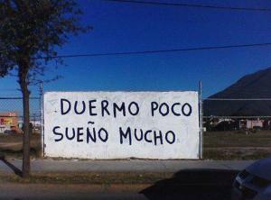 Acción poética, Sudamérica.