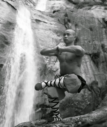 Kungfu Shaolin, Shaolin monk training in a usual day.